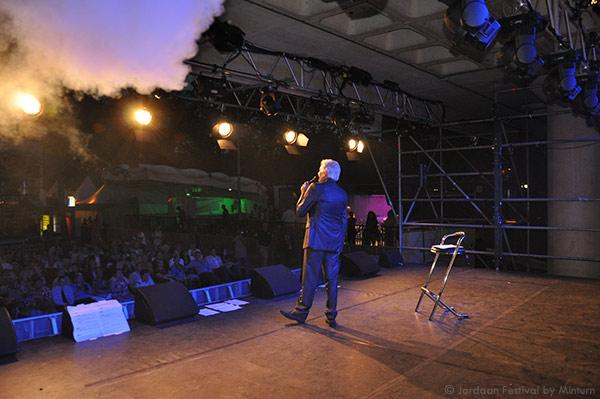 Ben-Cramer-op-podium-Jordaan-Festival-2014