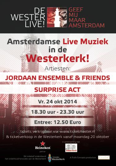 De Wester live! 24 oktober