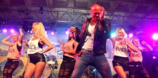 Denny Braaf op Jordaan Festival
