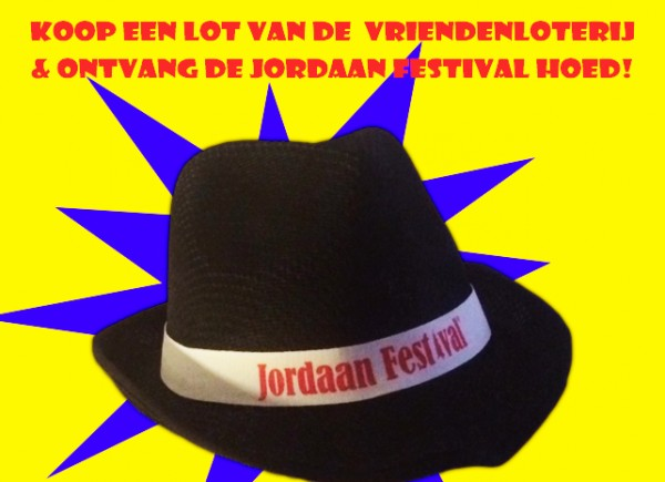 Jordaan Festival hoed