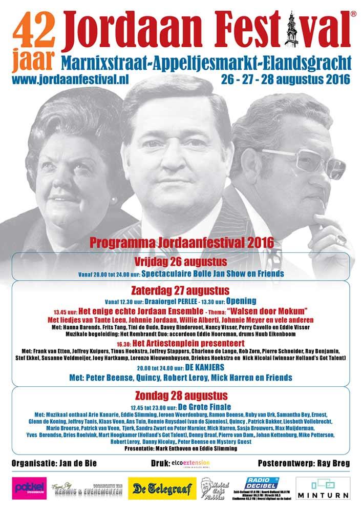 Jordaan Festival 2016