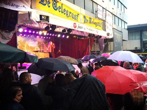 Regen op Jordaan Festival 2015