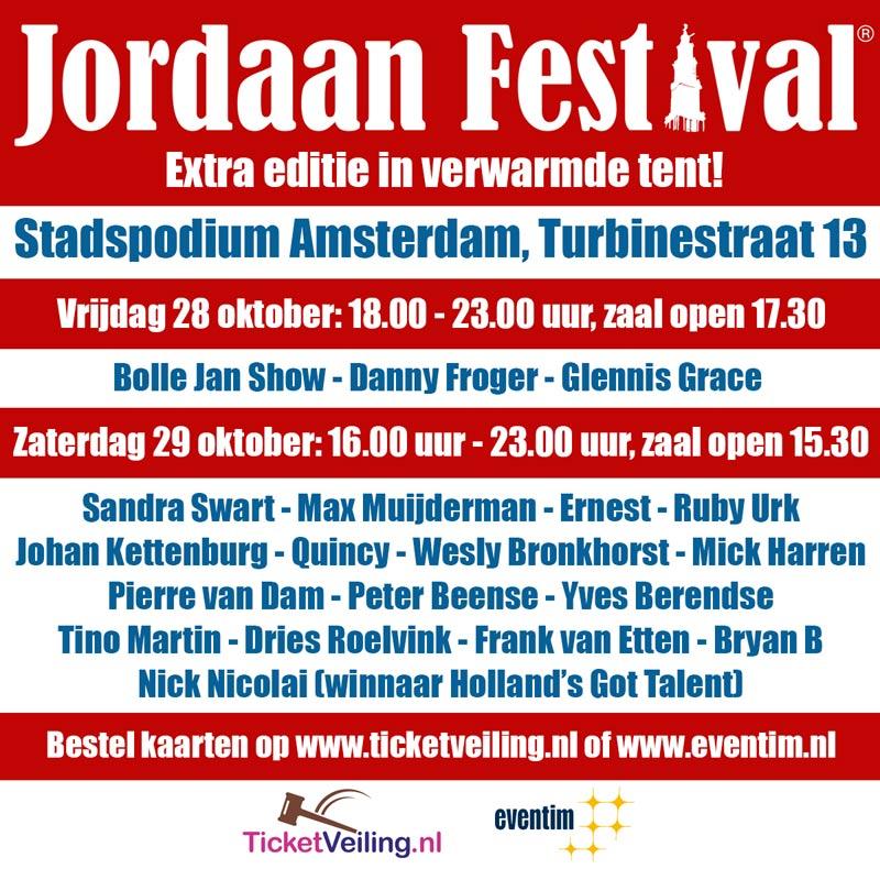 Jordaan Festival Extra Editie