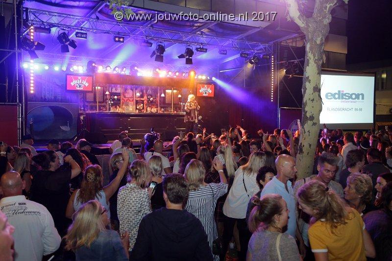 Reclamescherm Jordaan Festival