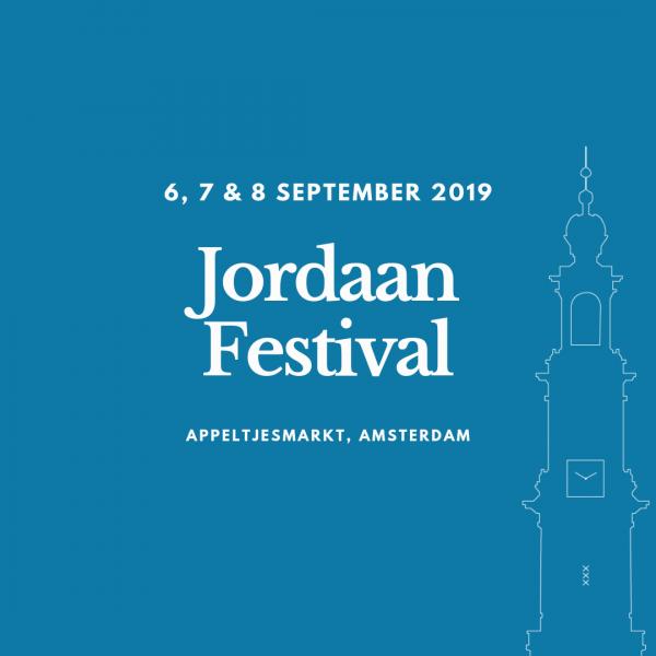 Jordaan Festival 6, 7 en 8 september 2019