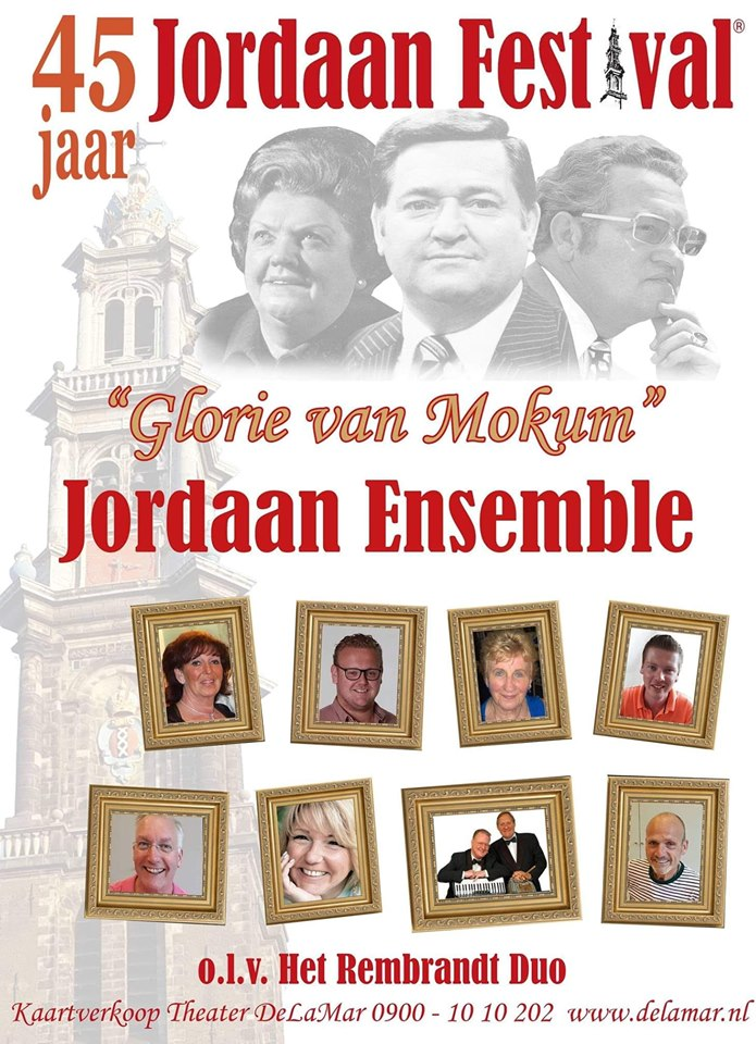 Jordaan Festival in De La Mar theater